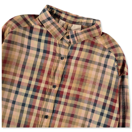 Mix Checked Shirt