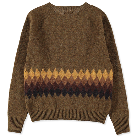 Banded Fairisle Sweater