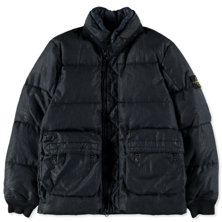 Lino Resinato Down Jacket - 711541833 - V0120