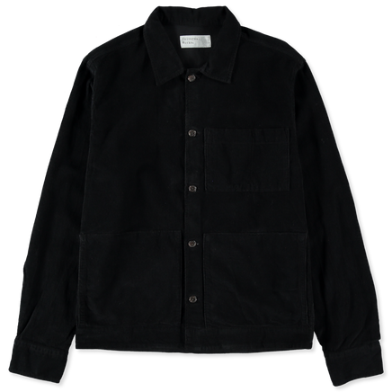 Fine Cord Uniform Shirt