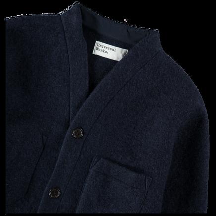 Wool Fleece Cardigan