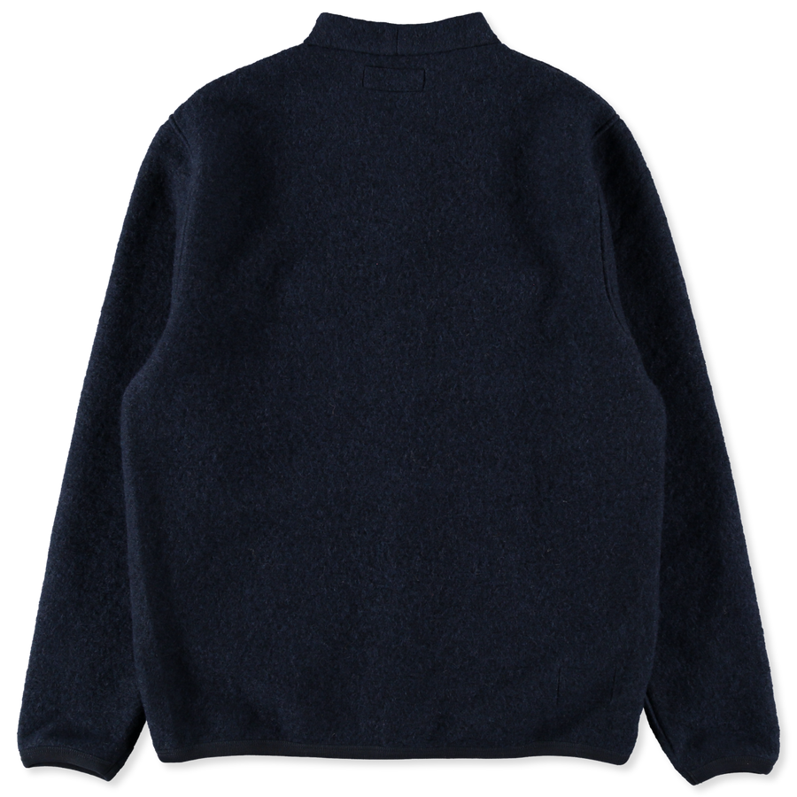 Wool Fleece Cardigan
