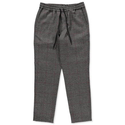 Cosma Check Wool Trouser