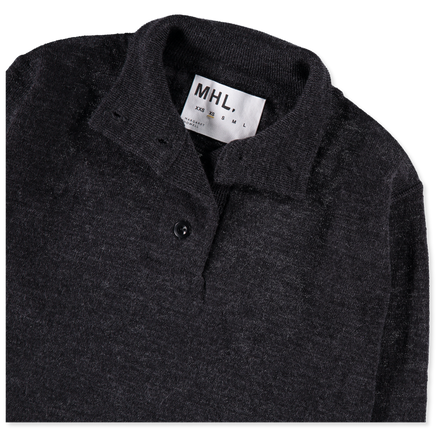 MHL Stand Collar Sweater