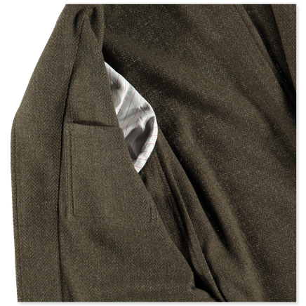 Starman Raw Wool 2B Jacket