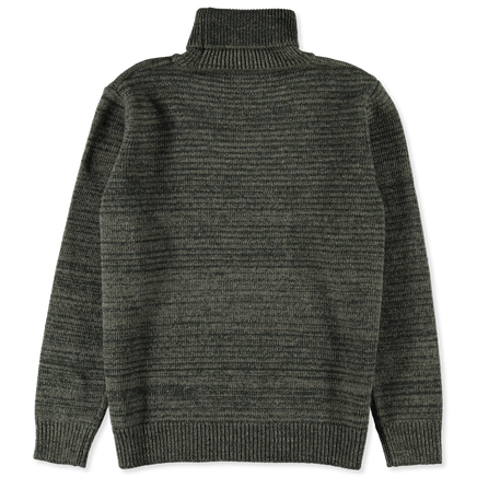 Julian Melange Wool Roll Neck