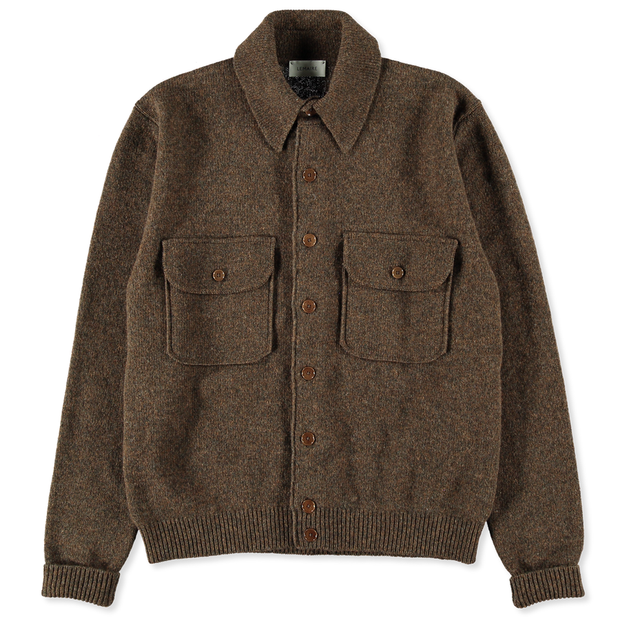 Knitted Military Shirt