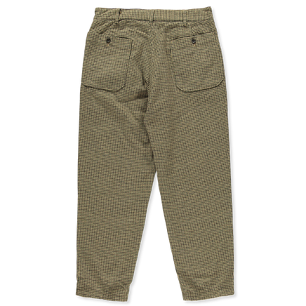 Wool Check Carlyle Pant