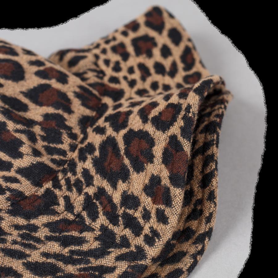 Leopard Jacquard Dome Hat