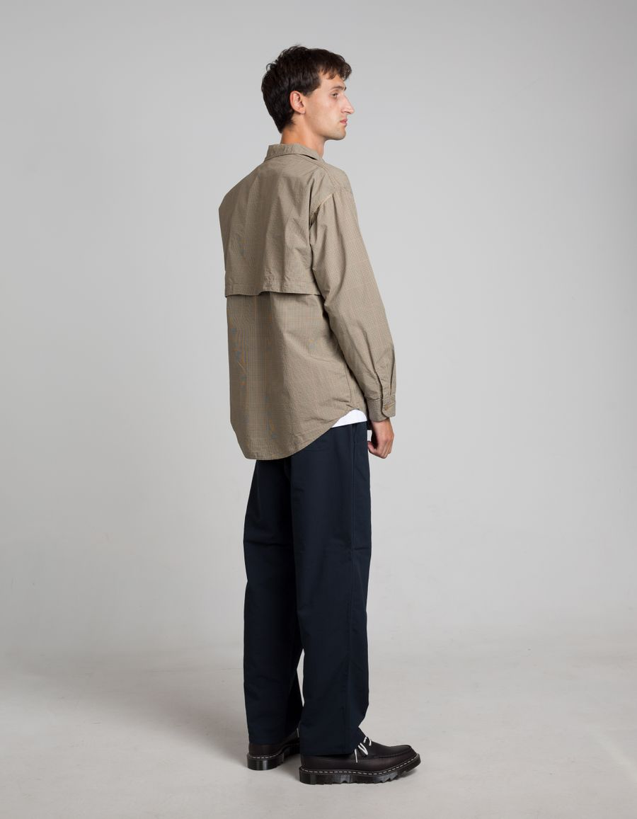 Open Collar Wind Shirt