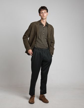 Brera Wool Flannel Trouser