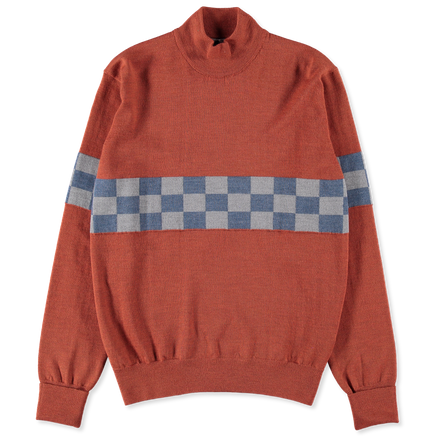 T.E.C Checkerboard Turtle Neck