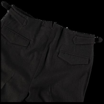 Double Pleat Wool Trouser