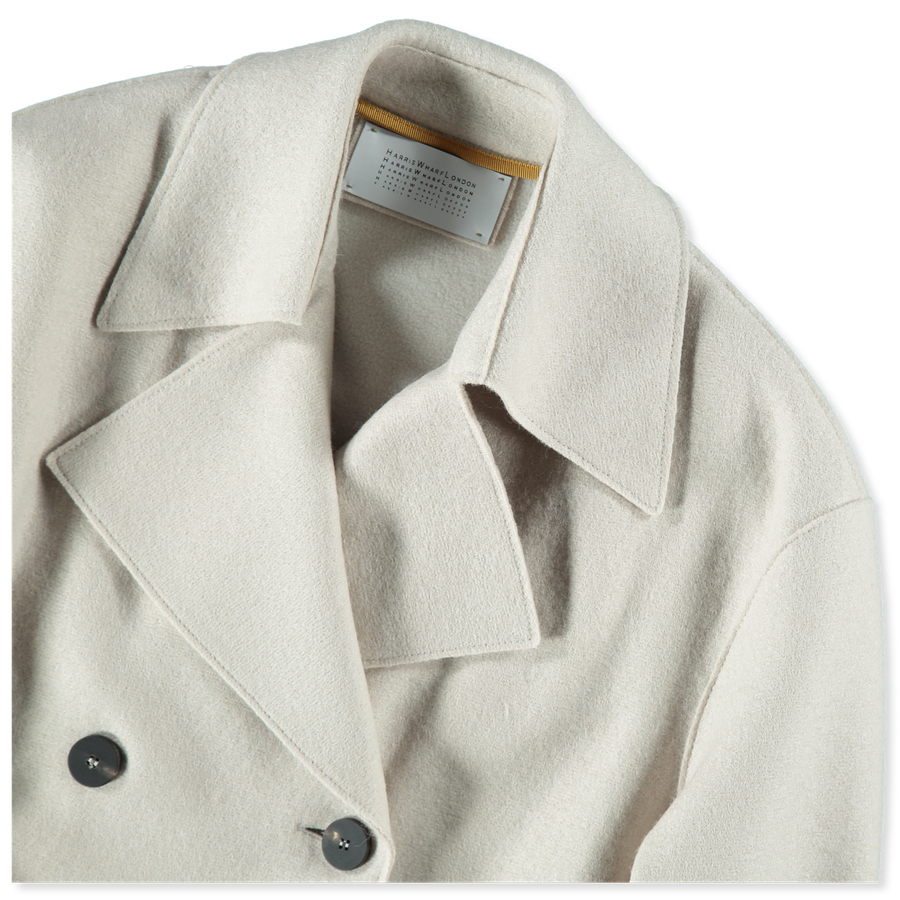 Pressed Wool Trenchcoat