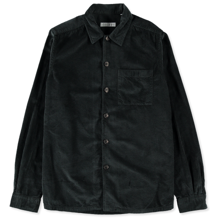 Cord Overshirt Black
