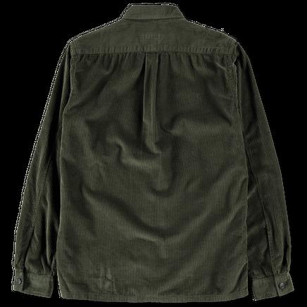 Cord Overshirt Green