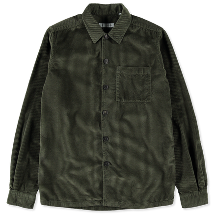 Cord Overshirt Green