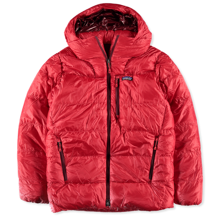 FItz Roy Down Parka Red