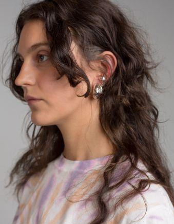 Ear Cuff w. Natural Stone