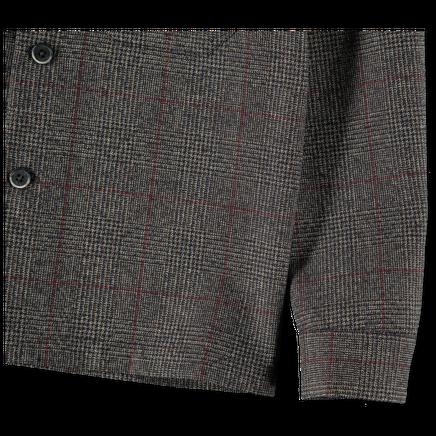 Cedrone Wool Check Overshirt