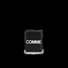 Comme des Garçons Wallet Wallet - Huge Logo Black - Black