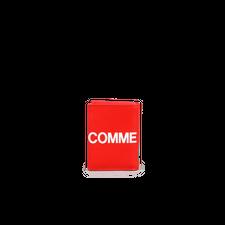 Comme des Garçons Wallet Wallet - Huge Logo Red - Red