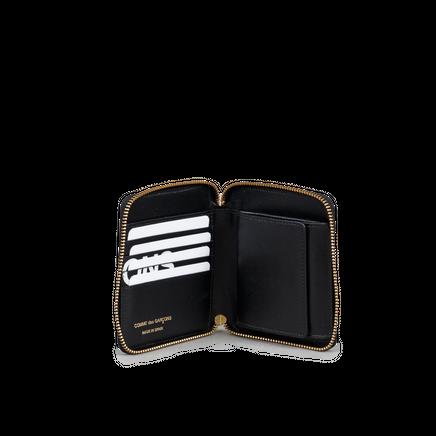 Full Zip Wallet - Huge Logo Black