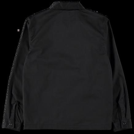 Zip Up Work LS Shirt