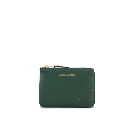 Rounded Zip Case Green