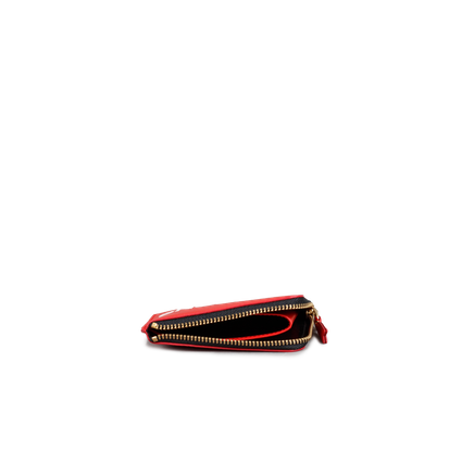 Half Zip Wallet - HL Red