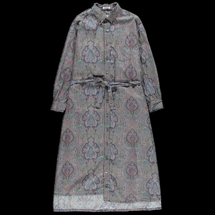 Paisley Shirt Dress