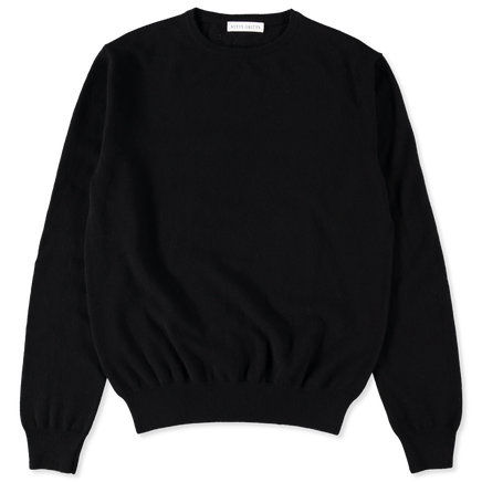 Cashmere 12g CN Sweater Black