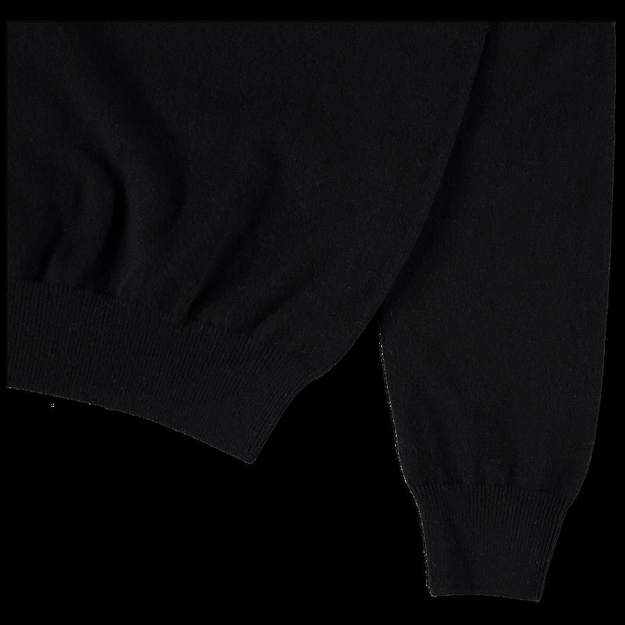 Cashmere 12g CN Sweater Black