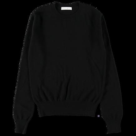 W's Cashmere CN 12g Sweater Black