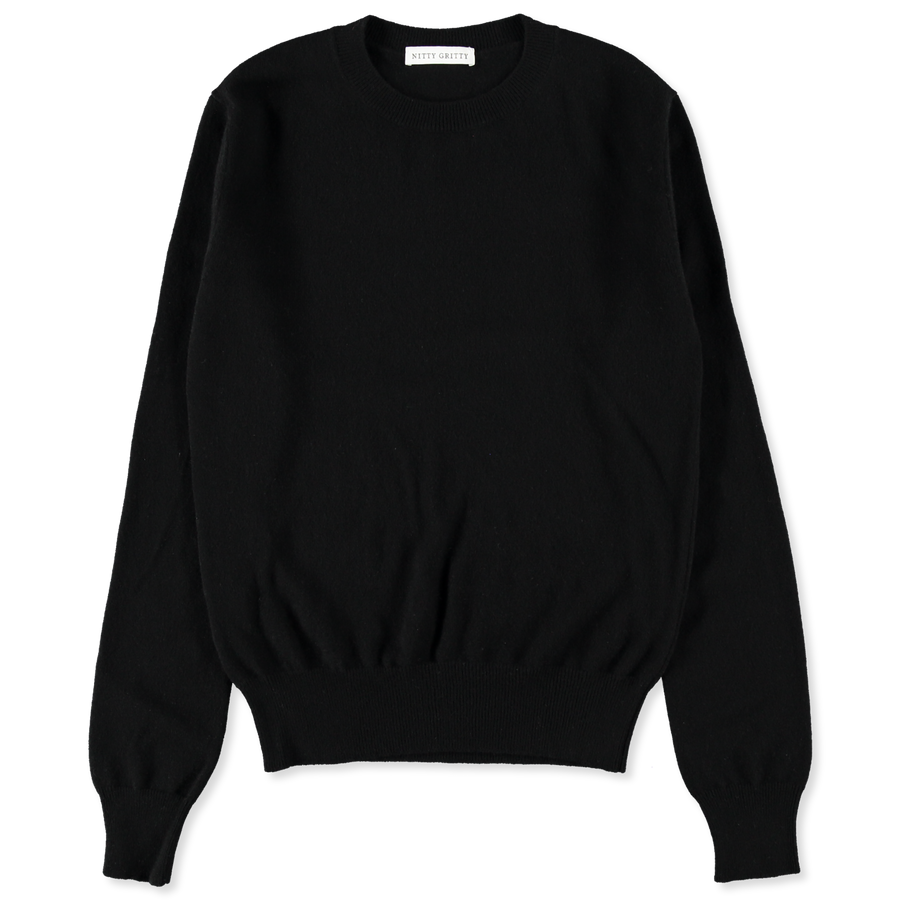 W's Cashmere CN 12g Sweater Black