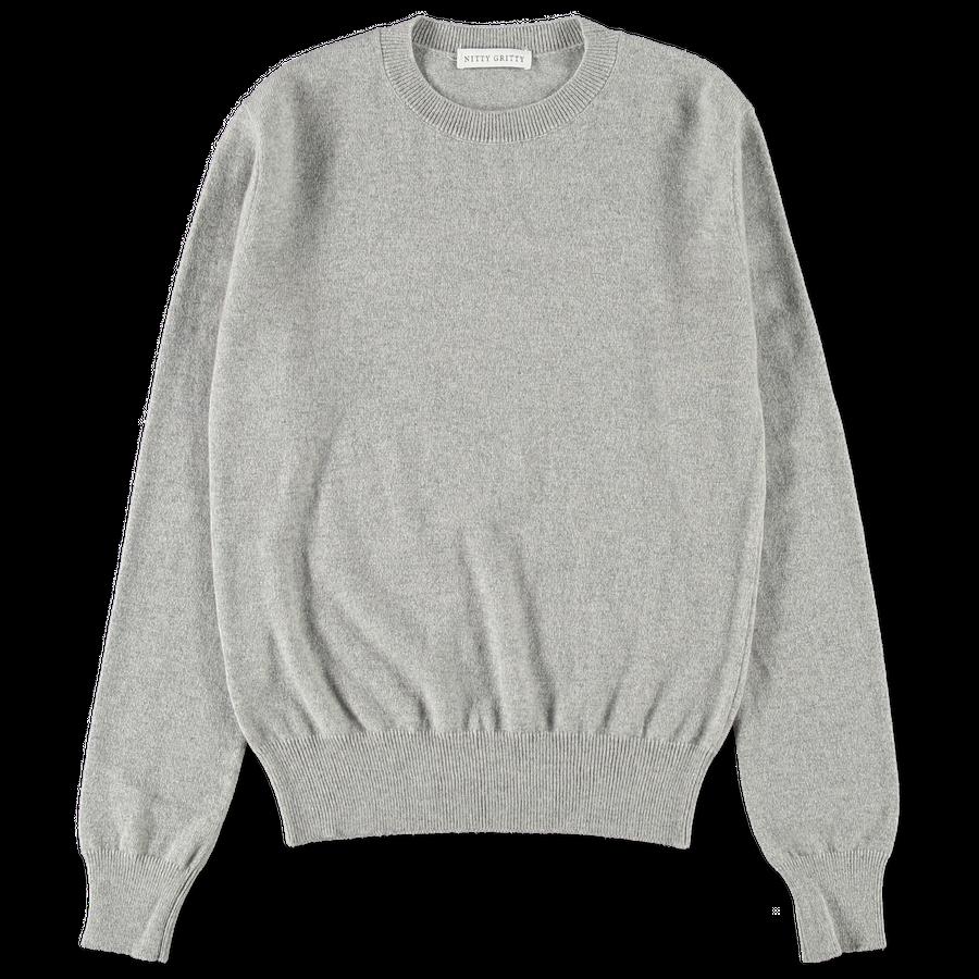 W's Cashmere CN 12g Sweater Greige