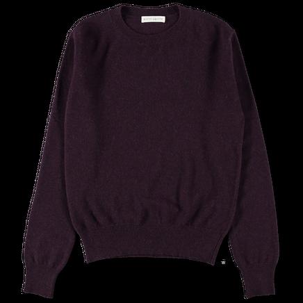 W's Cashmere CN 12g Sweater Dk Wine