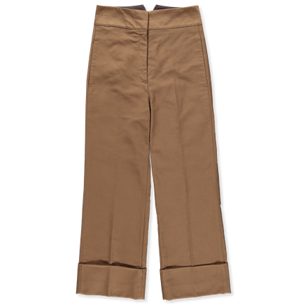 Cropped Stright Pants