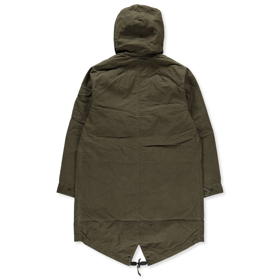 Waxed Cotton Parka