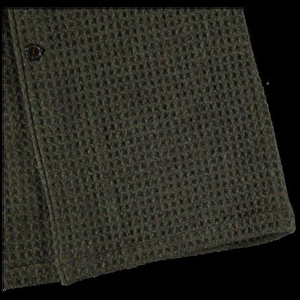 3D Tweed Overcoat