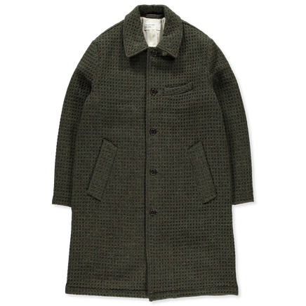 3D Tweed Overcoat