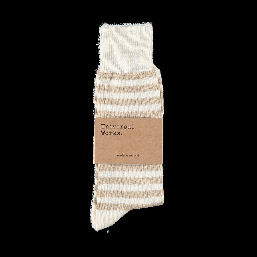 Cotton Stripe Sock