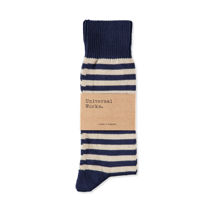 Cotton Stripe Sock