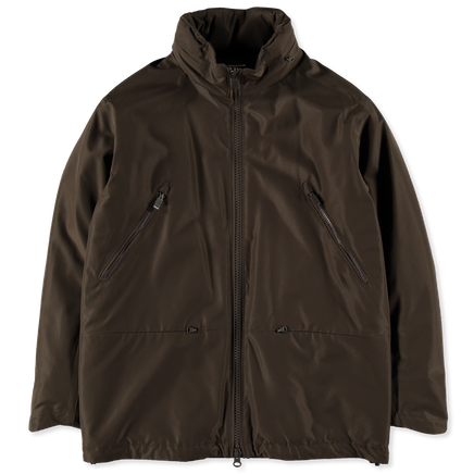 Zip Nylon Tech Jacket