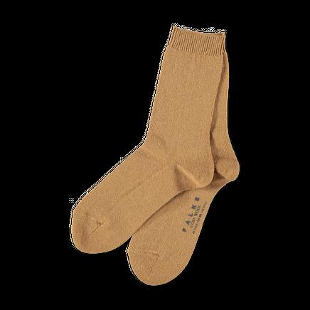 Cosy Wool Sock Camel