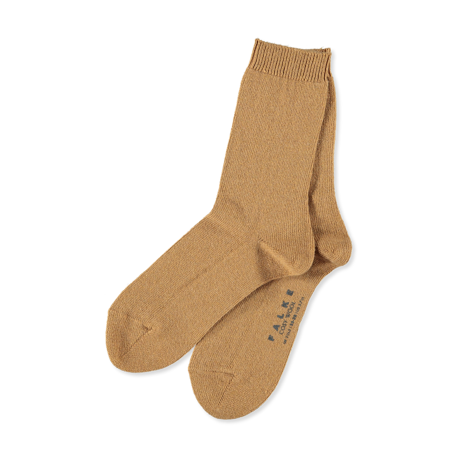official photos fcad2 35ea2 Cosy Wool Sock Camel