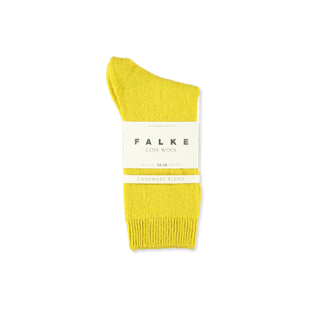 Cosy Wool Sock Yellow
