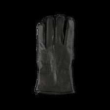 Hestra Matthew Grained Leather Glove Black - Black