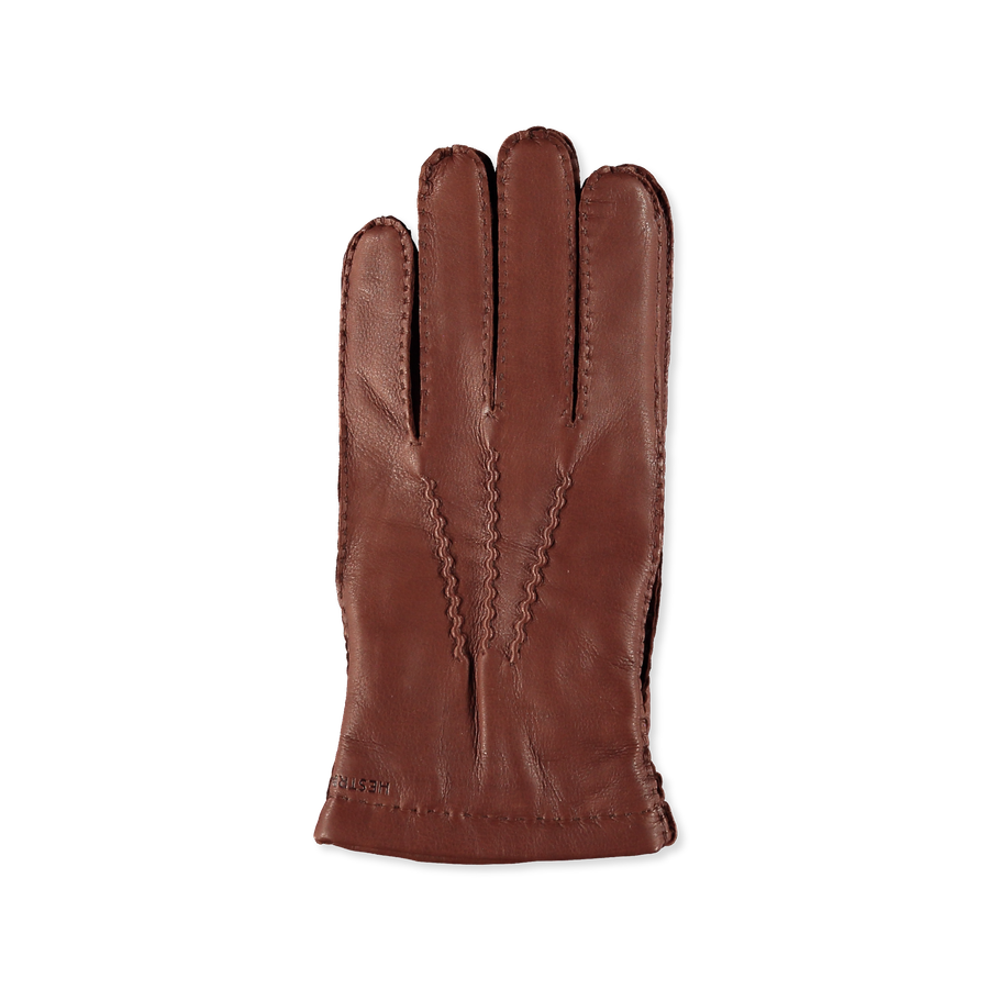 Matthew Grained Leather Glove Brown