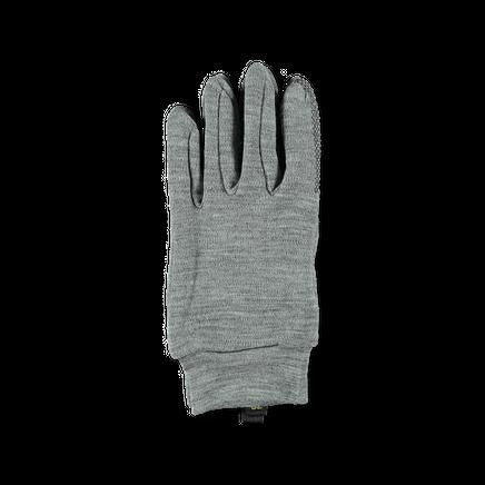 Merino Liner Glove Grey